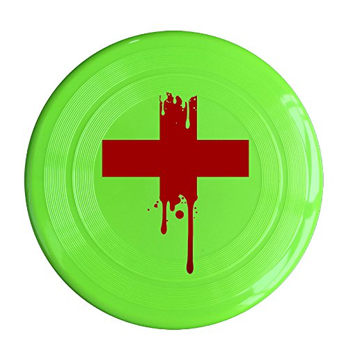 Logon 8 Custom Design Of The Amerian Red Cross Pet Flying Discs KellyGreen Diameter 23cm