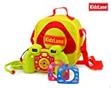 5 in 1 Kids Digital Camera - Camera + Video Recoding + Case + 3 Changeable Faceplates and Neck Ring. Add Cute Effects & Voice Recording to Photos - 7 Build-in Video Games - 2MP, 128MB Internal Memory, 4x Digital Zoom, 1.8