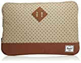 [ハーシェルサプライ] Herschel Supply Heritage Sleeve for 13 inch Macbook 10056-00317-13 Khaki Polka Dot/Tan (Khaki Polka Dot/Tan)