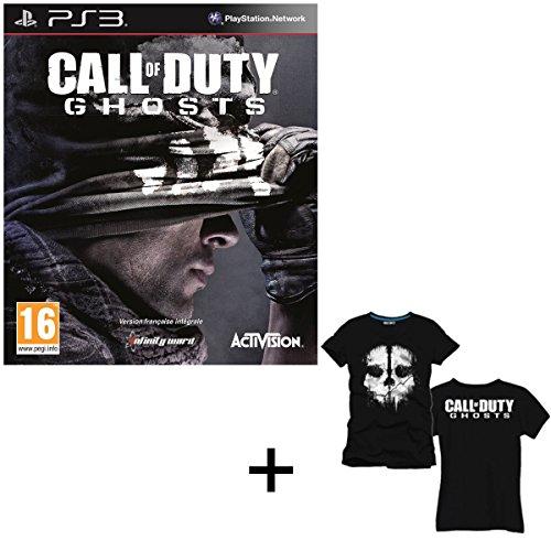 T-Shirt ufficiale, motivo: Call of Duty Ghost Limited Edition, 100% cotone, taglia L