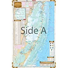 Waterproof Charts Waterproof Chart, 33F Biscayne Bay - Florida Bay, INSHORE FISHING CHART