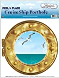 "Cruise Ship Porthole Peel 'N Place 12"" x 15"" Sh 1/Pkg"