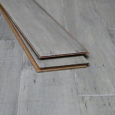 Bamboo Flooring Ashwood Distressed Click-Lock Strand