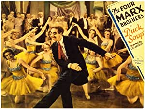 Amazon MOVIE FILM DUCK SOUP MARX BROTHERS COMEDY