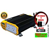 KRIËGER® 1100 Watt 12V Power Inverter Dual 110V AC outlets and Dual USB 2.1A car dc 12v to 110v ac adapter laptop charger notebook adapter dc charger ac adapter iphone cellphone usb charger UL CSA MET KR1100