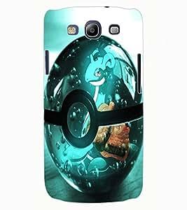 ColourCraft Digital Ball Design Back Case Cover for SAMSUNG GALAXY S3 I9300
