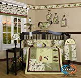 Boutique Beautiful Autumn Leaves 13PCS CRIB BEDDING SET