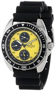 Nautica Men's N07564 Resin Round Multifunction Watch