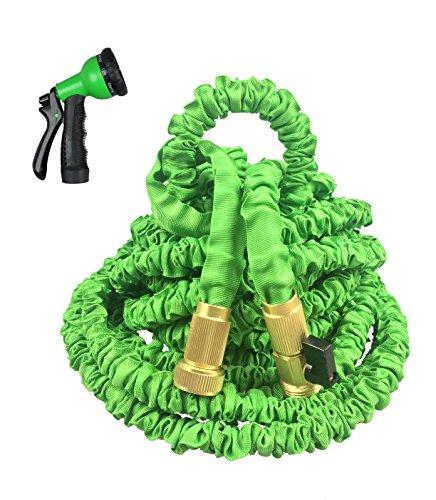 360gadget best expandable hose 100ft new materiel flexible for Best flexible garden hose