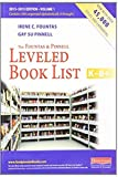 img - for The Fountas & Pinnell Leveled Book List, K-8+: 2013 - 2015 Edition, Volume 1 & 2(2 volume set) book / textbook / text book