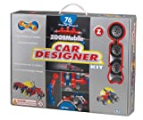 ZOOB 0Z12052 ZOOBMobile Car Designer Moving Mind-Building Modeling System, Assorted Colors, 76-Pieces
