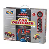 Zoob Car Designer Kit, Assorted Colors, 76-Pieces ~ Zoob
