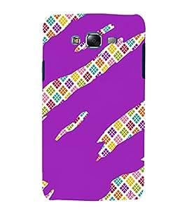 PrintVisa Modern Art Pattern 3D Hard Polycarbonate Designer Back Case Cover for Samsung Galaxy J7