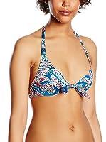 Chantelle Sujetador de Bikini Naiade (Azul Royal / Coral)