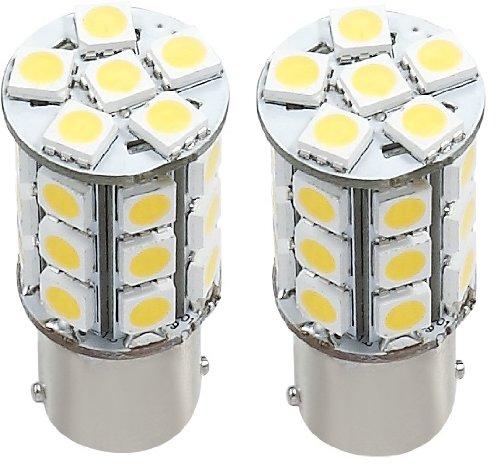 2 X Green Value Led 25002V-02 1156/1141 Base Tower Led Replacement Bulb 250 Lum 8-30V Natural White