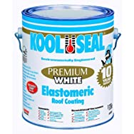 Kool Seal 63-600-1 Premium White Elastomeric Roof Coating