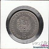 monedas para coleccionistas: Venezuela Schönnr: 63 3. Emblema del Estado de/Simon Bolívar venezolano muy ya muy...