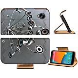 Variety Silver Metallic Speaker Design Google Nexus 5 Hammerhead LG Flip Case Stand Magnetic Cover Open Ports Customized Made to Order Support Ready Premium Deluxe Pu Leather 5 11/16 Inch (145mm) X 2 15/16 Inch (75mm) X 9/16 Inch (14mm) Luxlady Nexus cover Professional Nexus5 Cases Nexus_5 Accessories Graphic Background Covers Designed Model Folio Sleeve HD Template Designed Wallpaper Photo Jacket Wifi Protector Cellphone Wireless Cell phone