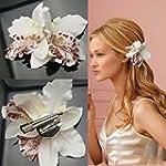 Fashion Wedding Bridal Flower Fabric...