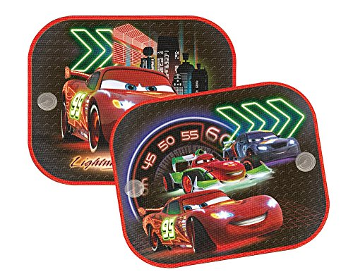 Disney / Pixar's Cars - Sunscreen / Sun Blinds / Sunshade Set (2 Sunscreens) (Lightning McQueen & Friends)