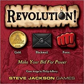 Revolution 2nd Printing Card Game