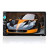 LSLYA (TM) HD 7 inch car MP5 player TFT touch screen car kit Bluetooth hands-free, FM Radio back car video USB / TF Aux Input Color screen Car Stereo MP5 Player with remote control