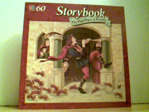"Storybook - The Pied Piper of Hamlin - 60 Piece Puzzle 12.5"" X 15"" (c1996)"