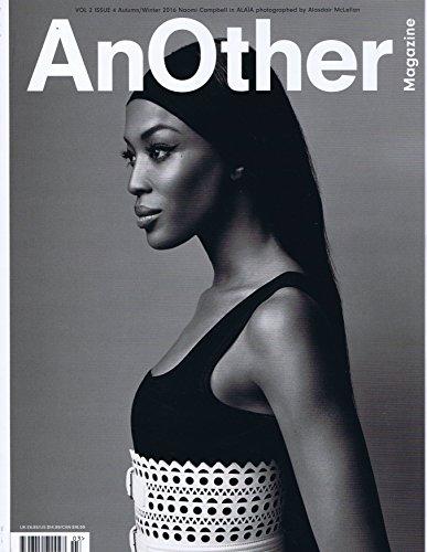 AnOther Magazine Autumn - Winter Ter 16 2016 大きい表紙画像