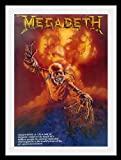 """Megadeth Dave Mustaine poster approx 34"""" x 24"""" inch (87 x 60 cm)new large"""