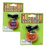 Halloween Pumpkin Blinking Safety Necklace