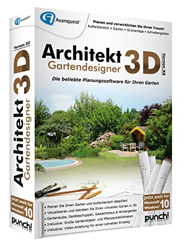 architekt 3d x8 gartendesigner. Black Bedroom Furniture Sets. Home Design Ideas