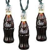 Kurt Adler CC5801 Coke Bottle Light Set, 10 Light