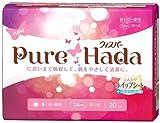 ウィスパー Pure Hada 多い日・昼用 羽つき