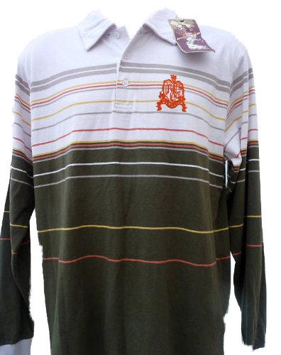 Quiksilver Mens Onolicious L/S Top/Polo T Shirt.Size Medium