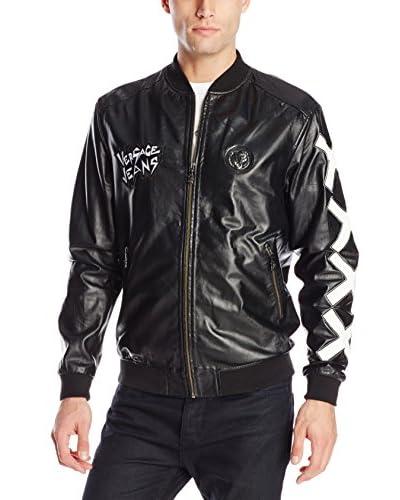 Versace Jeans Men's Leather Jacket