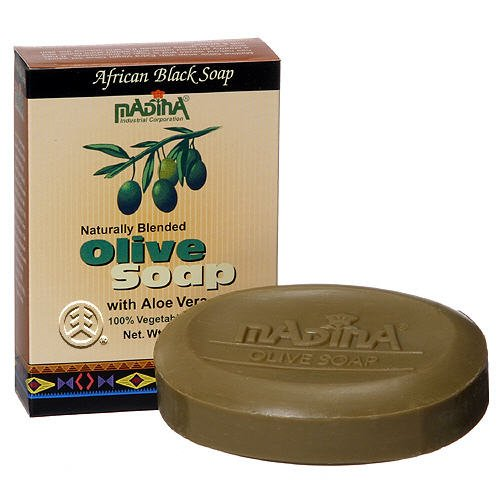 Madina Olive Soap 3.5 Oz with Aloe Vera madina olive soap 3 5 oz with aloe vera