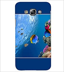 PrintDhaba Fish D-1396 Back Case Cover for SAMSUNG GALAXY A7 (Multi-Coloured)