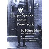 Harpo Speaks . . . About New York ~ Harpo Marx