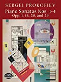 Piano Sonatas Nos. 1-4: Opp. 1, 14, 28, and 29 (Dover Music for Piano) (0486421287) by Prokofiev, Sergei