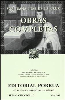 Completas de Sor Juana Ines de la Cruz (Spanish Edition): Juana Ines