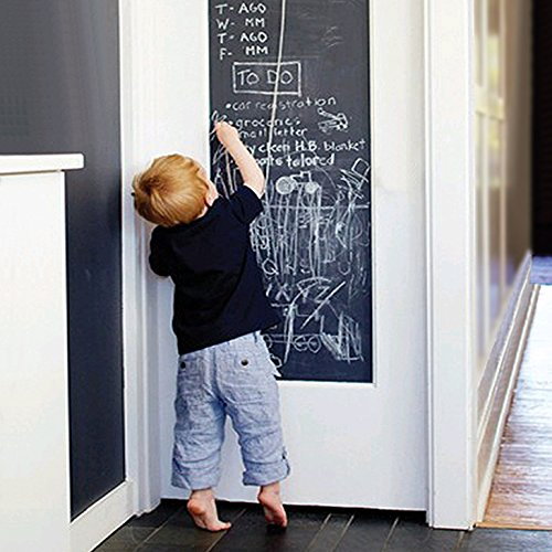 EachWell-DIY-Vinyl-Chalkboard-Removable-Blackboard-Wall-Sticker-Decal-18-x-79-with-5-Free-Chalks-for-Home-Office