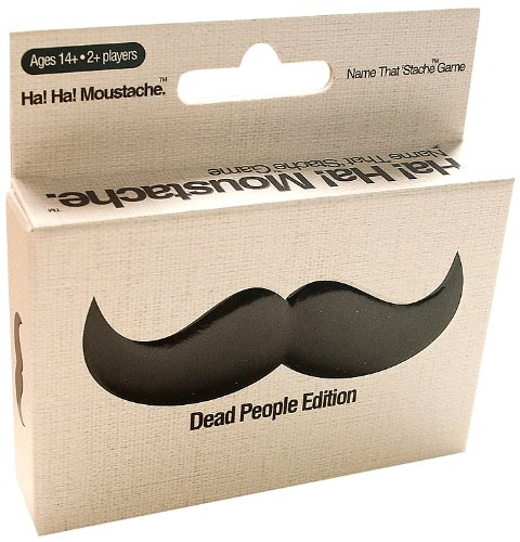 Ha Ha Moustache Name that 'Stache Game - Dead People Edition - 1
