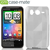 Case-Mate SoftBank 001HT / HTC Desire HD Gelli Case - male Checkmate with Screen Protector, Clearジェリー ケース 「チェックメイト」 (液晶保護シート つき) クリアー CM012714