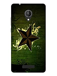 TREECASE Designer Printed Soft Silicone Back Case Cover For Micromax Canvas Spark Q380