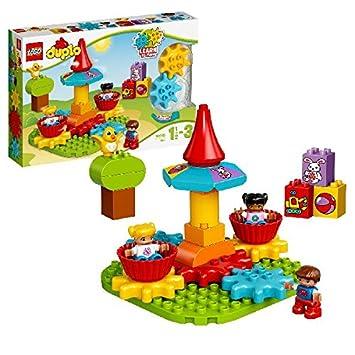 LEGO - 10845 - DUPLO - Jeu de Construction - Mon Premier Manège