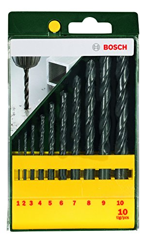 2607019442 Metal Drill Bit Set (10 Pc)