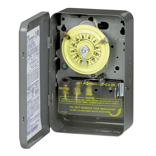 Intermatic T101 24 Hour Dial Timer, Indoor Only (Electric Circuit Timers compare prices)