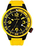 Kienzle Herren-Armbanduhr POSEIDON XL Black Pro Analog Silikon K2021173123-00258
