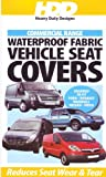 Heavy Duty Black Waterproof Seat Cover for Ford Ranger 2004 Front