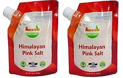 Raw Garden Himalayan Pink Salt by American Organic